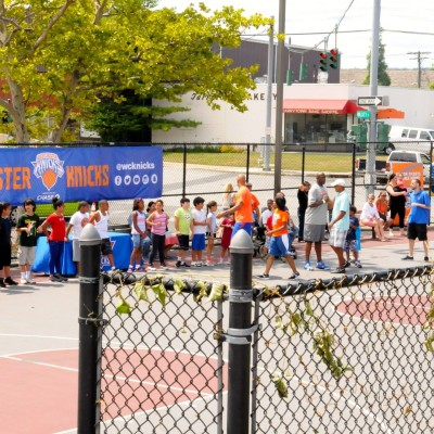 Westchester Knicks basketball clinic